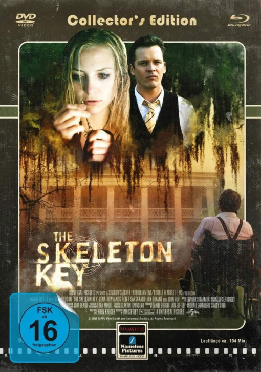 The Skeleton Key - Limited Mediabook (Cover Haus) [Blu-ray+DVD]