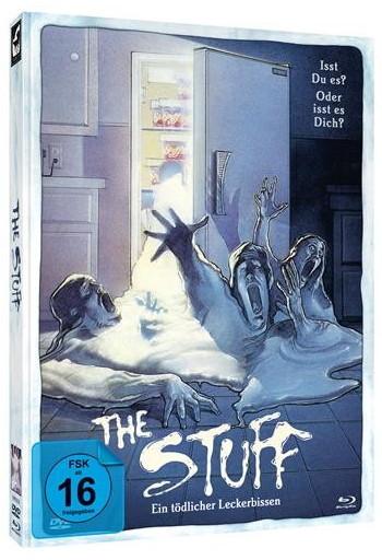 The Stuff - Ein Tödlicher Leckerbissen - Limited Mediabook Edition [Blu-ray+DVD]