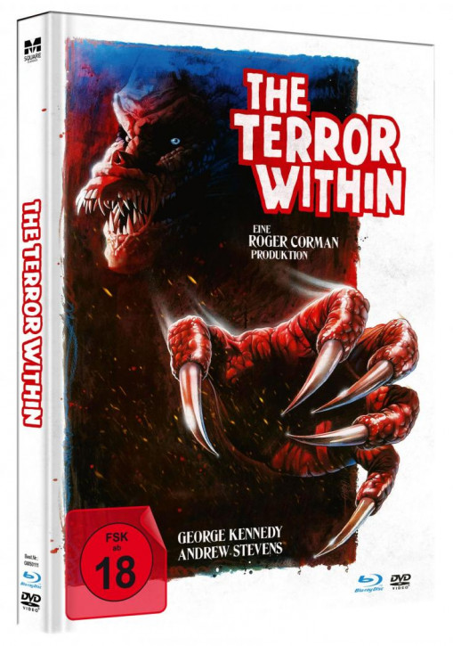 The Terror Within - Limited Mediabook Edition [Blu-ray+DVD]