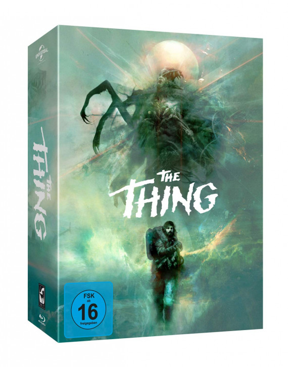 John Carpenter's - The Thing - Deluxe Limited Edition (Modern) [Blu-ray]