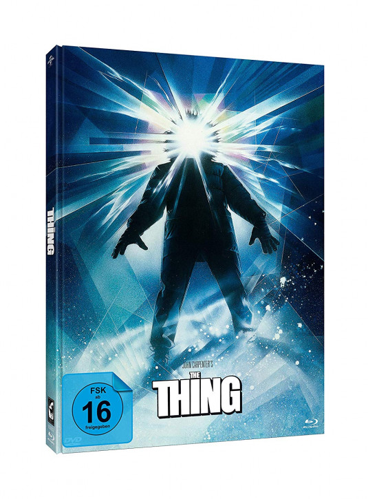The Thing - Limited Mediabook Edition - Cover A [Blu-ray+DVD]