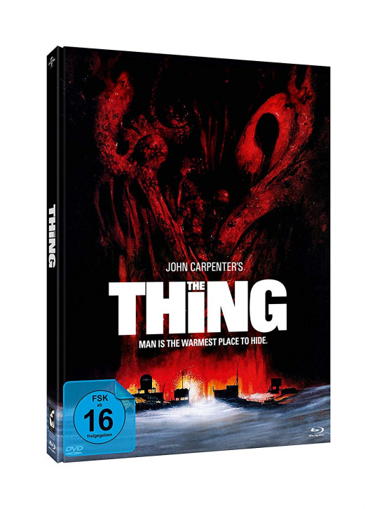 The Thing - Limited Mediabook Edition - Cover B [Blu-ray+DVD]