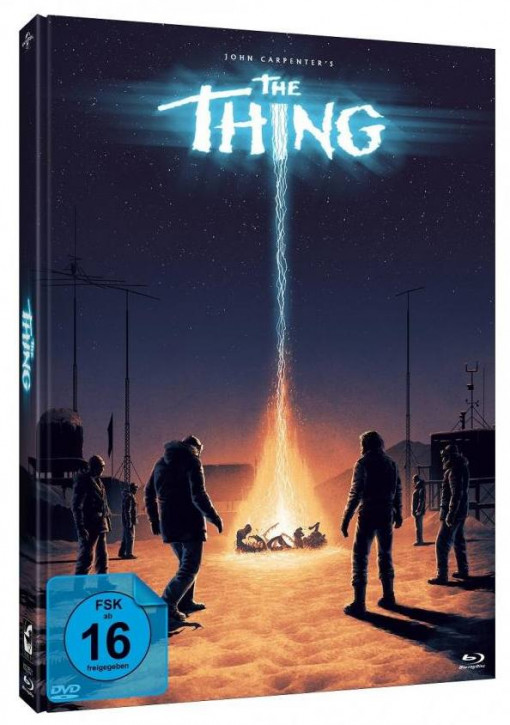 The Thing - Limited Mediabook Edition - Cover C [Blu-ray+DVD]
