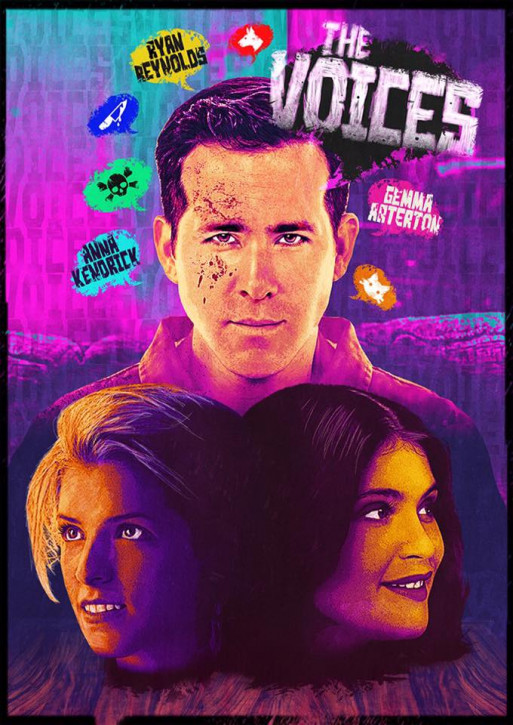 The Voices - Mediabook - Cover C [Blu-ray+DVD]