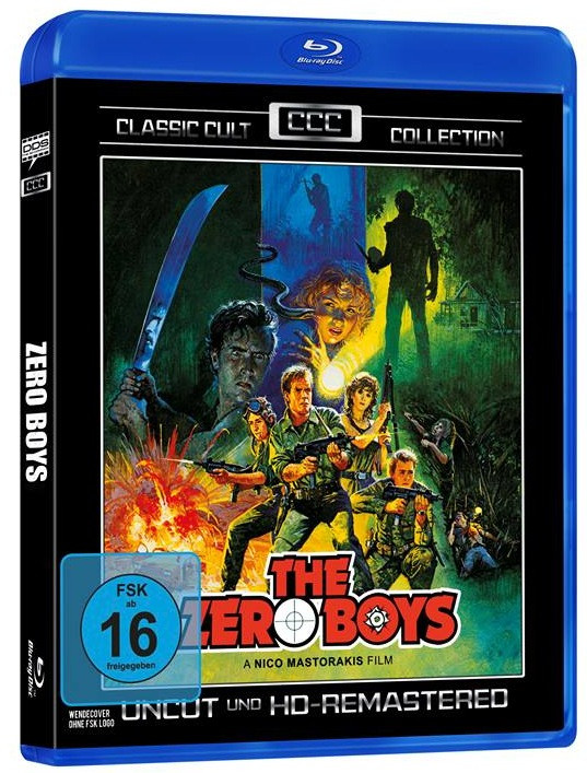 The Zero Boys - Classic Cult Collection [Blu-ray]