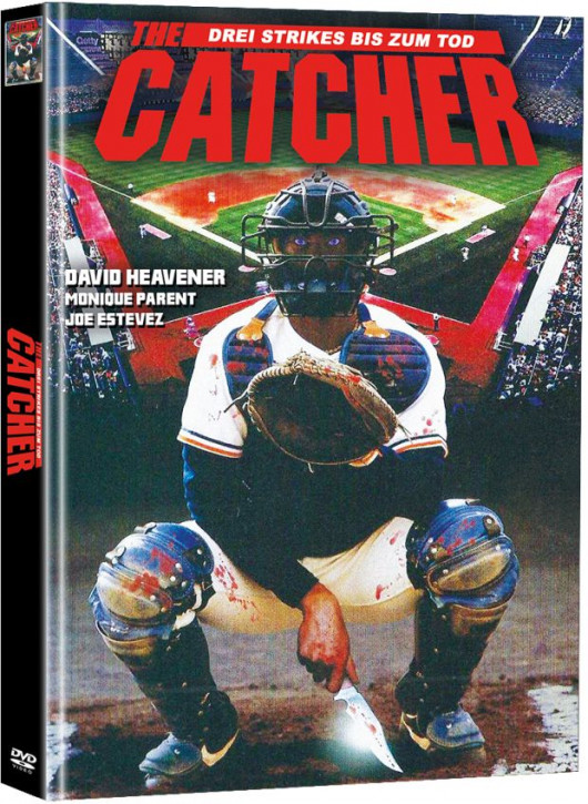 The Catcher - Drei Strikes bis zum Tod - Limited Mediabook Edition (Super Spooky Stories #83) - Cover C [DVD]