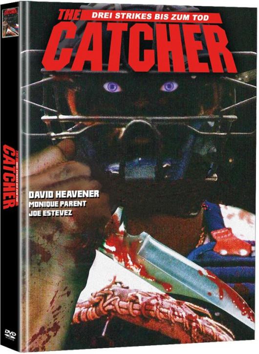The Catcher - Drei Strikes bis zum Tod - Limited Mediabook Edition (Super Spooky Stories #83) - Cover D [DVD]