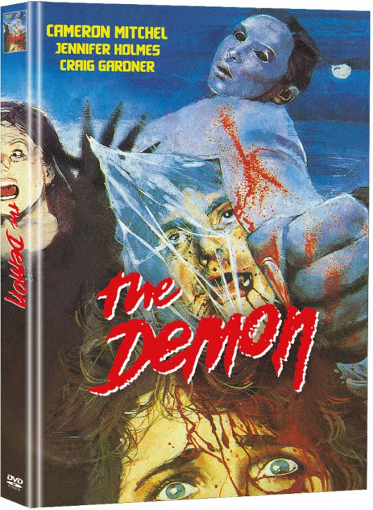The Demon - Der Teuflische - Limited Mediabook Edition (Super Spooky Stories #147) - Cover B [DVD]