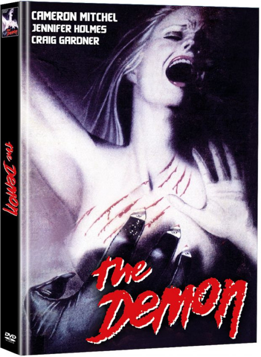 The Demon - Der Teuflische - Limited Mediabook Edition (Super Spooky Stories #147) - Cover C [DVD]