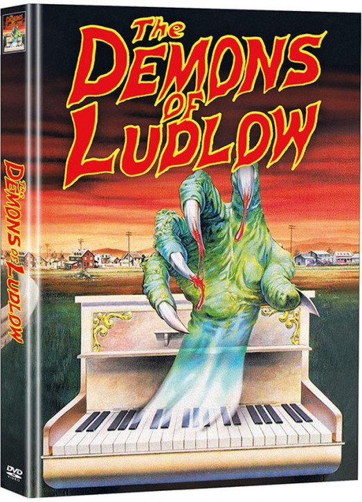 The Demons of Ludlow - Limited Mediabook Edition - Cover B (Super Spooky Stories #119) [DVD]