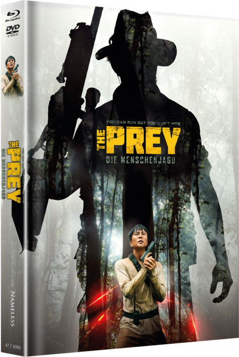 The Prey - Limited Mediabook - Cover A [Blu-ray+DVD]