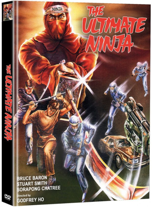 The Ultimate Ninja - Limited Mediabook Edition - Cover A [DVD]
