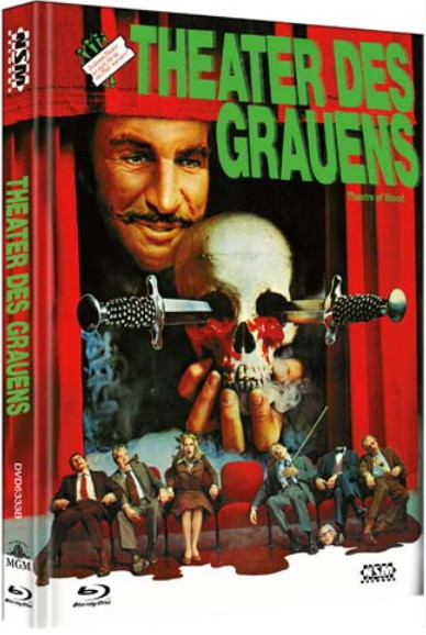 Theater des Grauens - Limited Collector's Edition - Cover B [Bluray+DVD]