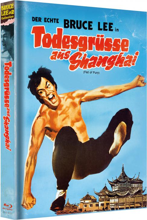 Bruce Lee - Todesgrüsse aus Shanghai - Limited Mediabook [Blu-ray+DVD]