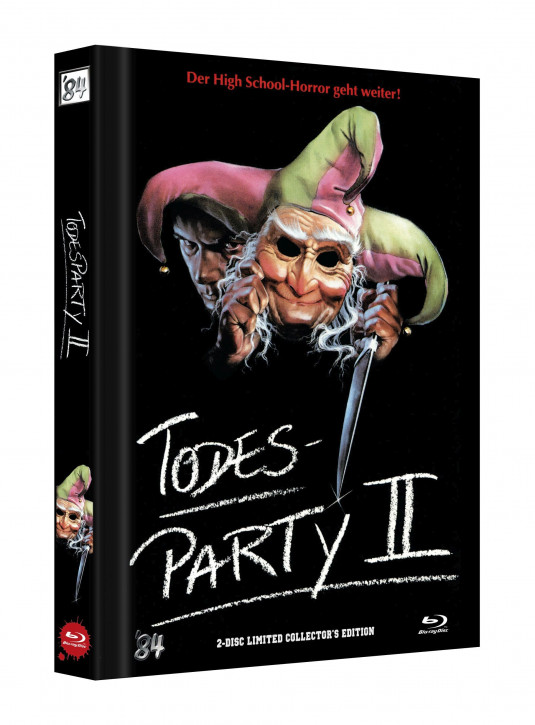 Todesparty 2 (Cutting Class) - Limited Collectors Edition - Cover D [Blu-ray+DVD]