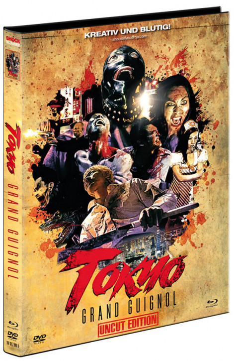Tokyo Grand Guignol - Limited Mediabook Edition - Cover B [Blu-ray+DVD]