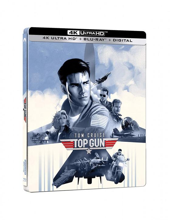 Top Gun - Steelbook [4K UHD+Blu-ray]