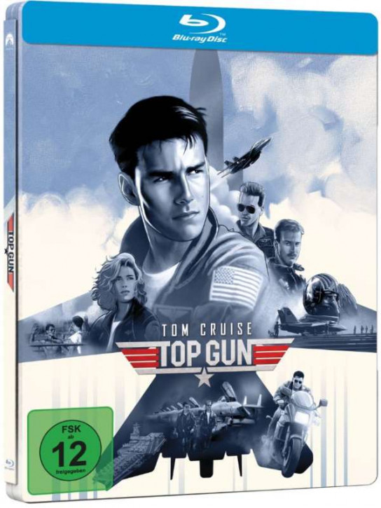 Top Gun - Steelbook [Blu-ray]