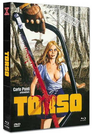 Torso - Die Säge des Teufels - Mediabook - Eurocult Collection #0 - Cover B [Blu-ray+DVD]