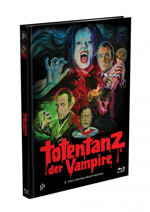 Totentanz der Vampire - Mediabook - Cover A [Blu-ray+DVD]