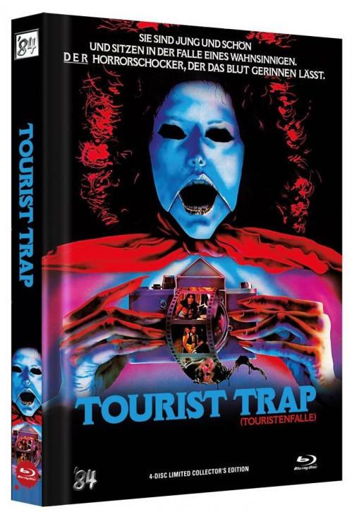 Tourist Trap - Director's Cut - Limited Mediabook - Cover A [Blu-ray+DVD]