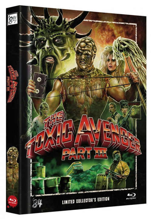 The Toxic Avenger Part III - Limited Collector's Edition - Single BD [Blu-ray]