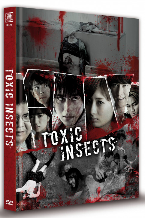 Toxic Insects - Limited Mediabook Edition (OmU) - Cover A [DVD]