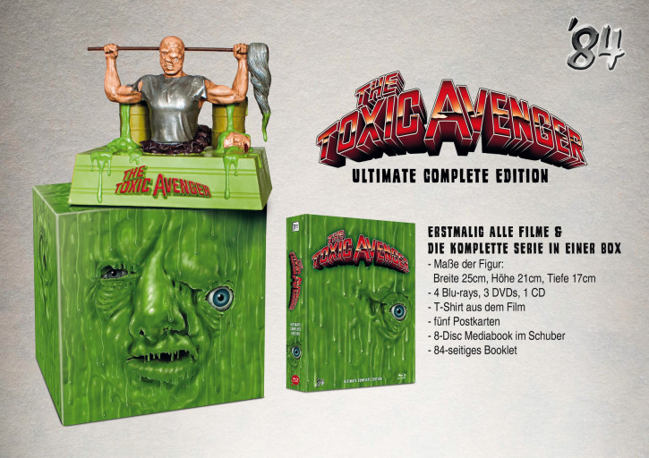 The Toxic Avenger - 8-Disc Ultimate Complete Edition [Blu-ray+DVD]