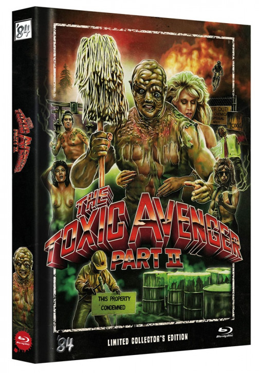 The Toxic Avenger Part II - Limited Collector's Edition - Single BD [Blu-ray]