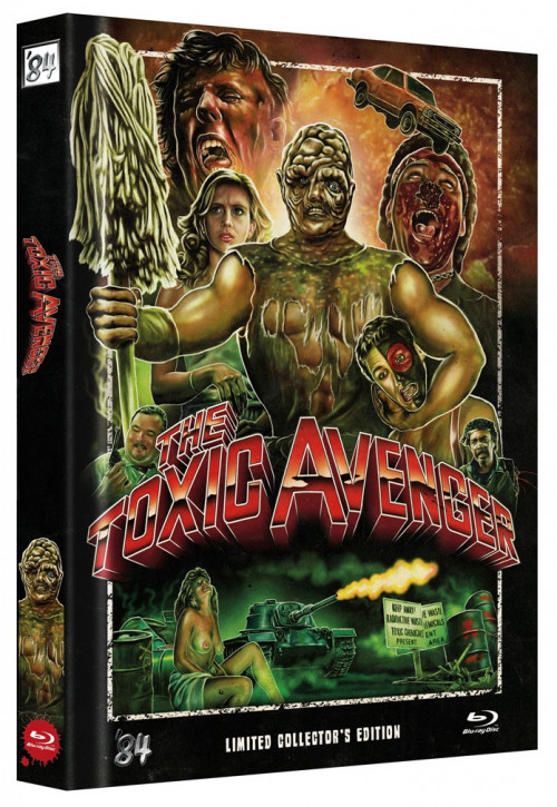 The Toxic Avenger - Limited Collector's Edition - Single BD [Blu-ray]