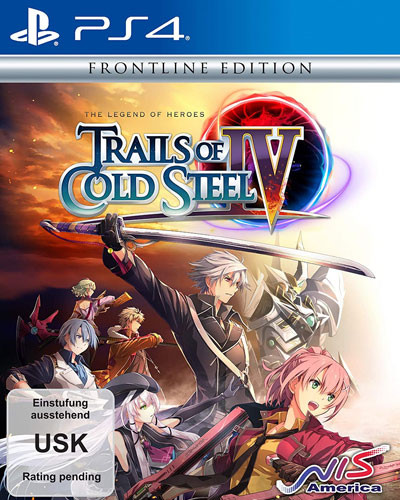 Trails of Cold Steel 4 - Legends of Heroes Frontline Edition [PS4]