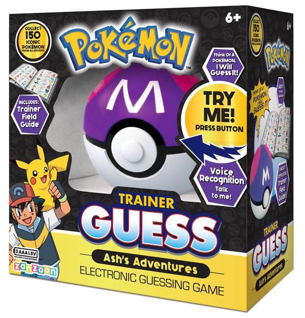 Pokémon Trainer Guess - Ashs Adventures