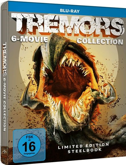 Tremors 1-6 Collection - Steelbook [Blu-ray]