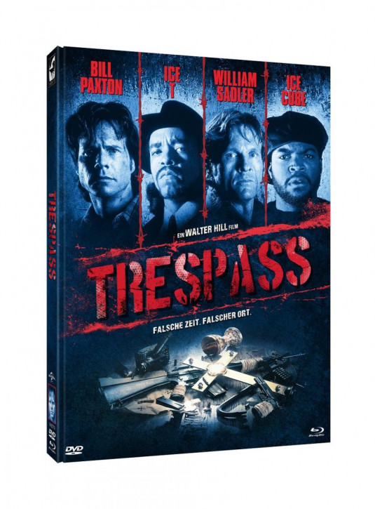 Trespass - Limited Mediabook Edition - Cover A [Blu-ray+DVD]