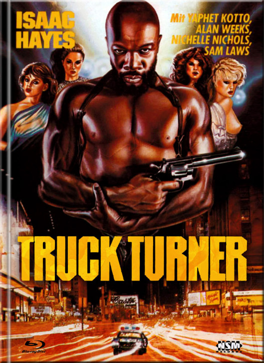 Truck Turner (Chicago Poker) - Limited Mediabook Edition - Cover A [Blu-ray+DVD]