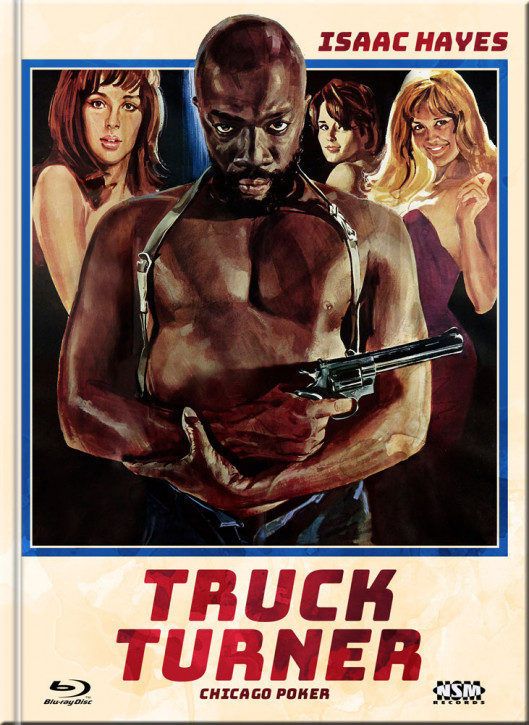 Truck Turner (Chicago Poker) - Limited Mediabook Edition - Cover D [Blu-ray+DVD]