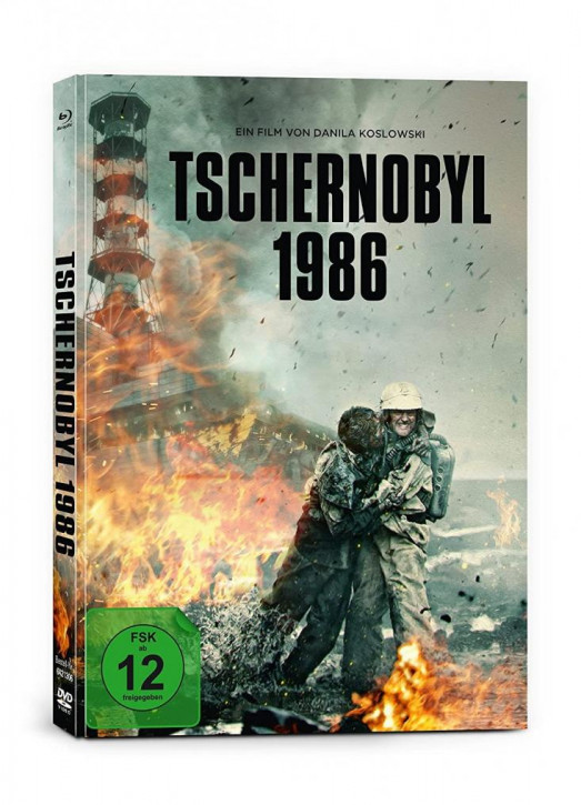 Tschernobyl 1986 - Limited Mediabook Edition [Blu-ray+DVD]