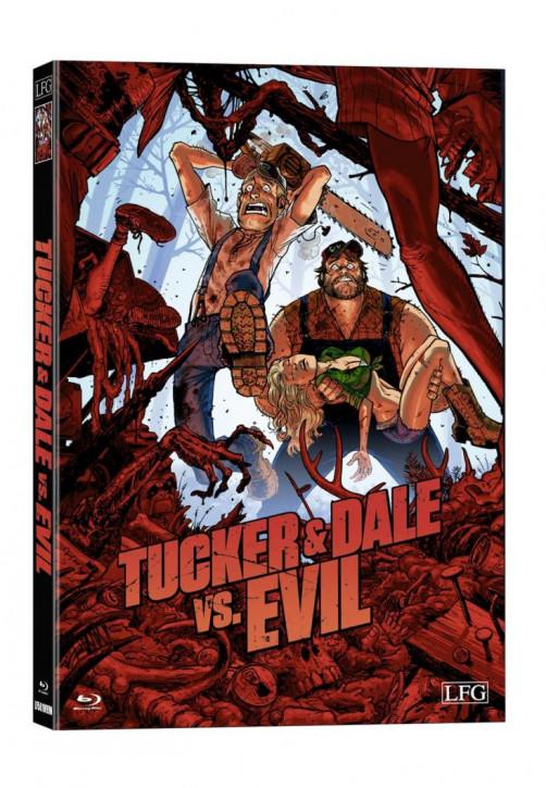 Tucker & Dale VS Evil  - wattiertes Mediabook [Blu-ray]