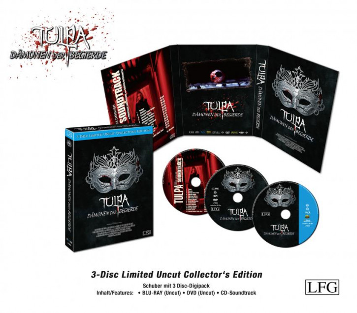 Tulpa - Limited Uncut Collectors Edition [Blu-ray+DVD]