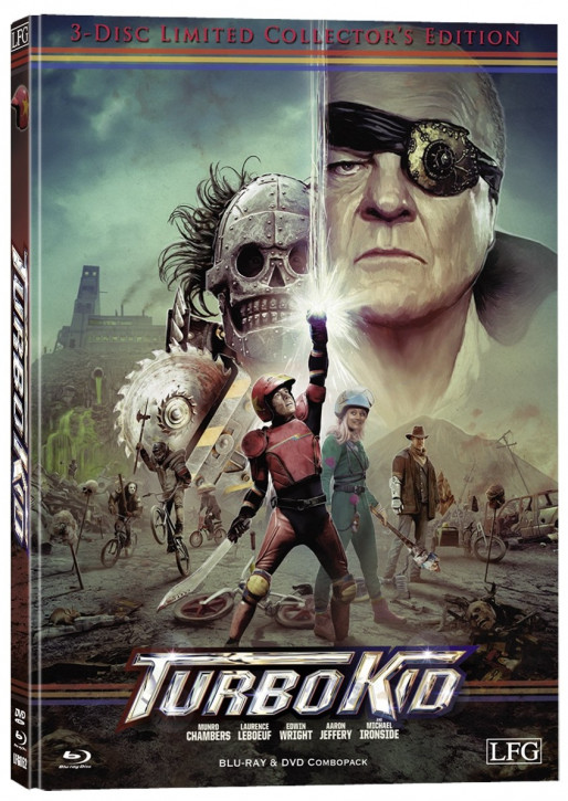 Turbo Kid - Mediabook - Cover A [Blu-ray+DVD]