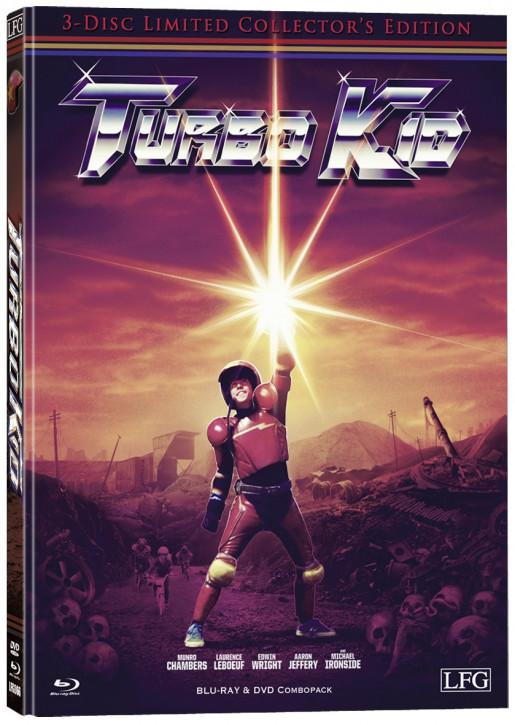 Turbo Kid - Mediabook - Cover B [Blu-ray+DVD]