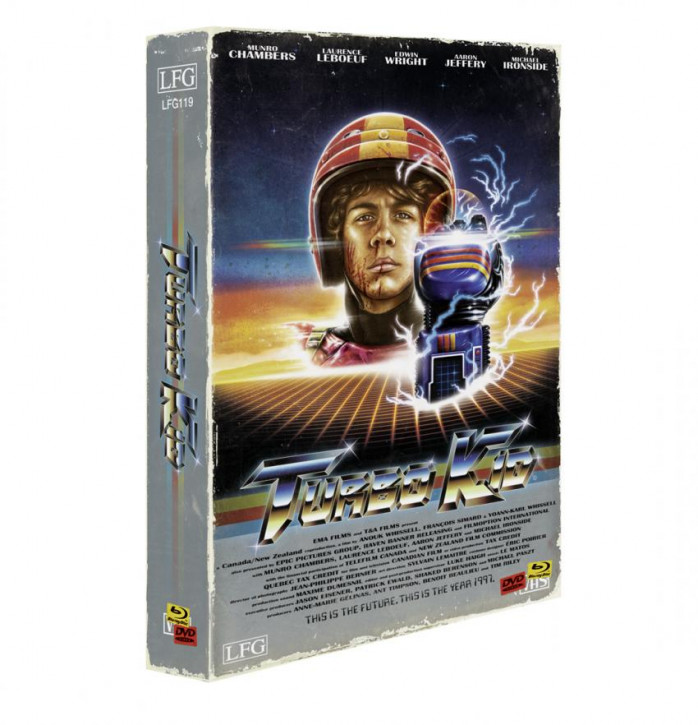 Turbo Kid - Retro Edition im VHS-Look - Cover A [Blu-ray+DVD+CD]