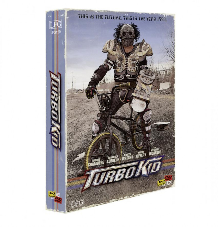 Turbo Kid - Retro Edition im VHS-Look - Cover B [Blu-ray+DVD+CD]