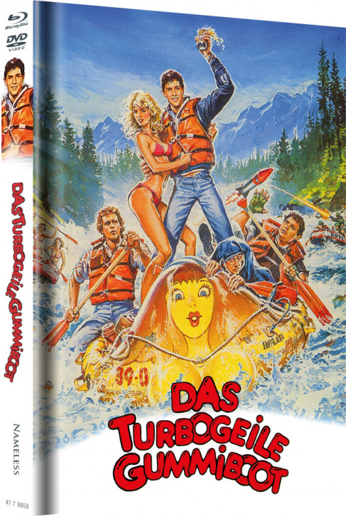 Das turbogeile Gummiboot - Limited Mediabook Edition - Cover A [Blu-ray+DVD]