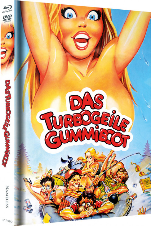 Das turbogeile Gummiboot - Limited Mediabook Edition - Cover B [Blu-ray+DVD]