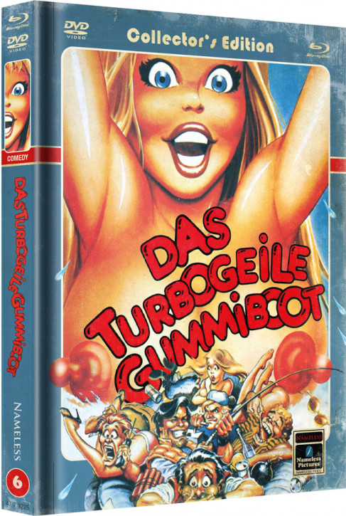 Das turbogeile Gummiboot - Limited Mediabook Edition - Cover C [Blu-ray+DVD]