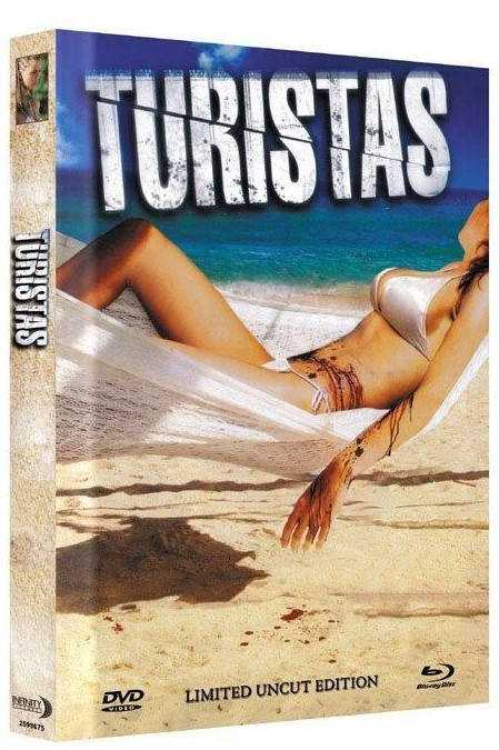 Turistas - Limited Mediabook Edition - Cover B [Blu-ray+DVD]