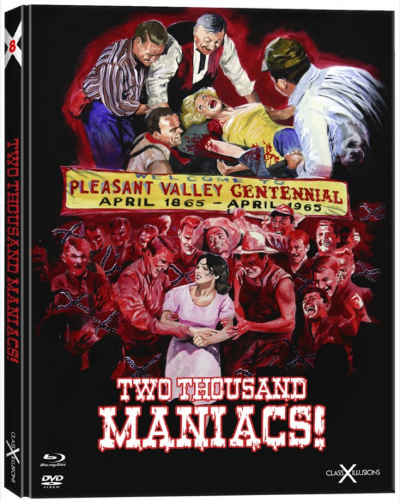 Two Thousand Maniacs! - Limited Collectors Edition - Class-X-Illusions #8 [Blu-ray+DVD]