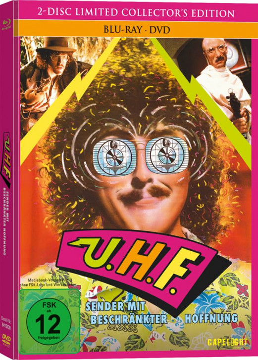 U.H.F. - Limited Collector's Edition [Bluray+DVD]