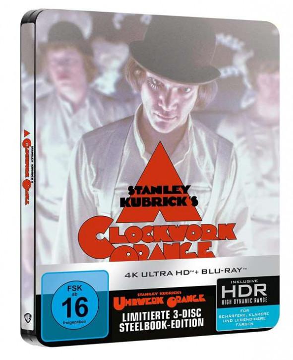 Uhrwerk Orange - Steelbook [4K UHD+Blu-ray]